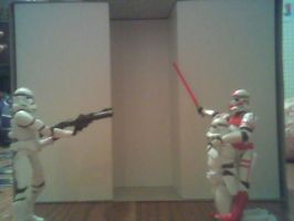 clone trooper theater 1 by man1nblack