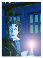 Doctor Who - 8th Doctor : Paul McGann. by mikedaws