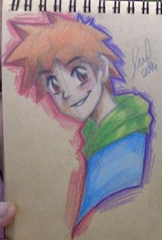 Colored Pencils Practice! by RoxasKuroishi