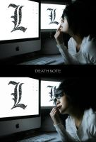 DEATH NOTE : L Lawliet by yue0491