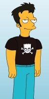 Me as a Simpsons character by UchihaLeader