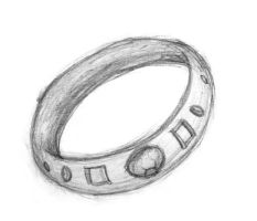 an any drawing: a ring by hinako-chan