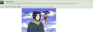 ask the duckhair: COME BACK? by malengil