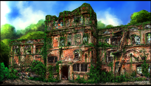 Ruin Building by Dismay666