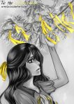 the yellow ribbon of return by Armelia