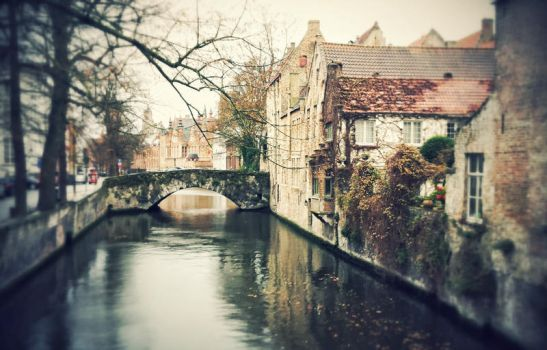 Old canal by vanerich