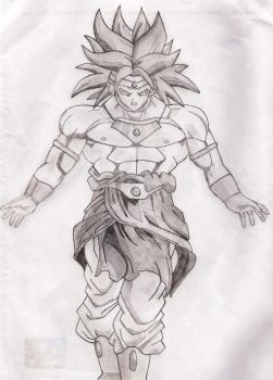 Broly by Tennoda