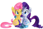 Commission ERROR : Rarity n Shy by January3rd