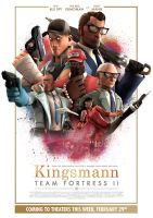 Kingsmann: Team Fortress II by uberchain