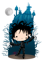 Edward Scissorhands by AnGiEdArKdEm0n