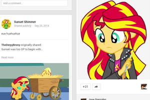 Glorious Juxtapositioning by Beavernator