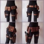 Mandalorians leather accessories (Star Wars) by GreatQueenLina