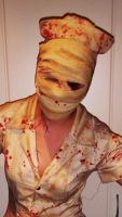 Silent Hill Nurse Costume by Carrion-Marionette