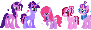 Next Gen Twilight Sparkle's Kids by PrincessLunarWolf