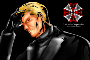 That Wesker Fellow by DragonKeeper333