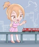 Hai train! by angelgts