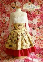Wine Lover skirt by zeloco