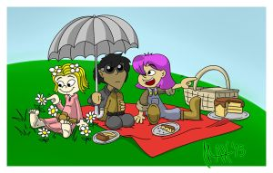 Picnic on the hills by megawackymax