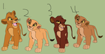 Lion cubs for adoption OPEN (4/4) by airbender01