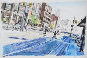 Sketched Spadina by A-Gonzo