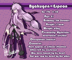Profile I- Byakugen-Espeon by Inucat