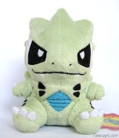 Tyranitar Plush Pokedoll style by TeacupLion