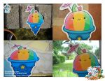 Kawaii Rainbow Shaved Ice V C by KawaiiUniverseStudio