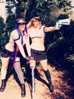 Panty and Stocking Cop it up by CosplayButterfly