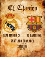 El Clasico 10.12.2011 by NASHterpiece