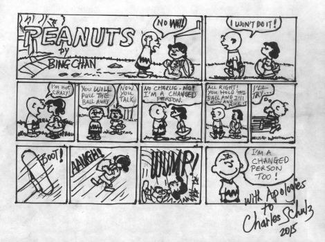 Peanuts2 by bing2014