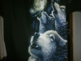 Wolf T Shirt by Navy-x