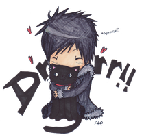 izaya chibi by AnimeFace