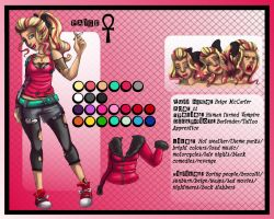 Paige Character Sheet by SnowFright