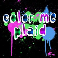 ColorMePlaidSplatterLogo by FalloutLuver13