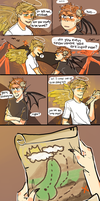 RT Halos and Horns AU by pikmama