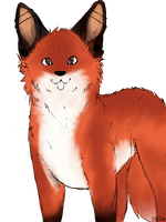 Its A Fox by Spindl3-Wolf