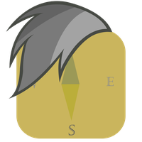 Daring Do Mane iPhone Safari Icon by craftybrony