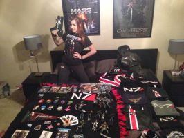 Happy N7 Day! Here's my Mass Effect collection!! by Viverra1