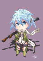 SAO: Chibi Shinon by zakimpo