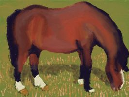 Art Academy 3DS: Horse by dklproductions