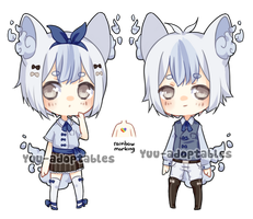 CLOSED Nimbs #10 Rare: Drizzling twins by Yuu-adoptables