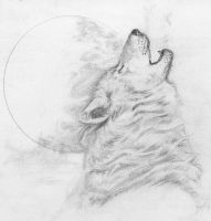 Howling by Ransolo