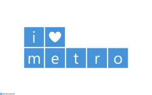 I heart metro Blue by mymicrosoftlife