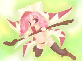 white mage 8D by HatoriTsukasa