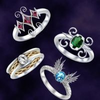 Ring designs by Darla-Illara