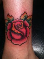 Rose Tattoo by Helectic