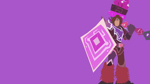 Taric Minimalist Wallpaper by gina-calabrese