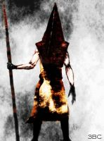 Pyramid Head - speed painting by 3BlackCircles