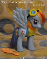 Wonderbolt Academy Rainbow Dash custom by Antych