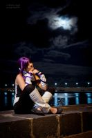 Yoruichi and the Moon by Daenel